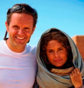 Mark Burnett and Roma Downey (as Jesus' mother, Mary)