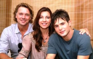 John Schneider, Shari Rigby, and Cody Longo