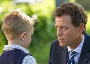 Colton Burpo (Connor Corum) tells Todd (Greg Kinnear) he met Pop (Photo: Sony Pictures)